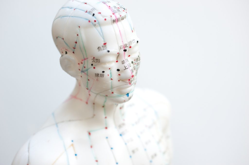 Mapping of Acupuncture Points